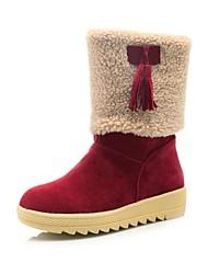 damesschoenen ronde neus lage hak halverwege de kuit laarzen meer kleuren beschikbaar
