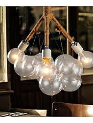Industrie 3-Licht Vintage Pendelleuchte