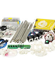 Heacent  RepRap Prusa Mendel  3D Printer DIY Full Assembly Kit (0.3\1.75mm, 0.4\3.0mm Nozzle)