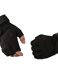 Sports Gloves Cycling Gloves Bike Fingerless Gloves Men's / Unisex Anti-skidding / Keep Warm / Protective Spring / Autumn/Fall / Winter