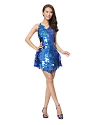 Dancewear Women's Milk Silk/Sequined Latin Dance Dress(More Colors)