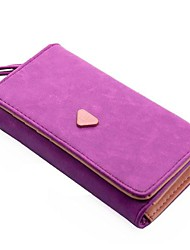 Women's Envelope Card Wallet Leather Purse Mobile Phone Bag