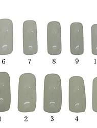 500 PCS Natural Color Full Nail Tips Acrylic Nail Art Tips