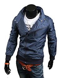 casaco fino encaixe básico dos homens dana