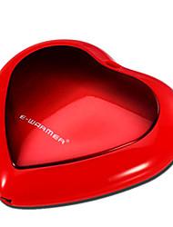 climatizada creativa encantadora forma de corazón del usb del calentador de la mano del cojín calentador calentadores de mano