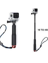extensible monopode pôle pour les caméras GoPro (rouge)