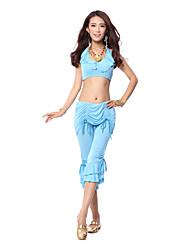 mercerizado trajes de dança do ventre dancewear algodão das mulheres (mais cores)