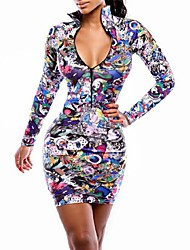 Women's Fashion Sexy  Dress