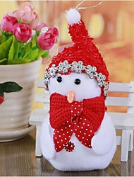 Small Gift Christmas Ornaments Snowman Widgets(Random Color)