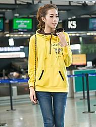 bolso canguru moletom com capuz manga longa hoodie das mulheres