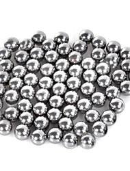 7mm Carbon Steel Slingshot Ball Silver 70 PCS