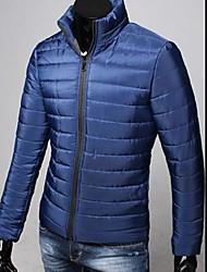 Men's Stand Thickened Slim Coat