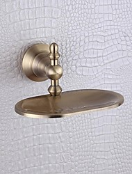 PHASAT®,Soap Dish Antique Bronze Wall Mounted Brass Antique