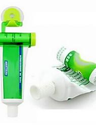 pression dentifrice de suspension plastique (couleur aléatoire)