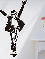 Fashion PVC Forever Michael Jackson Wall Stickers