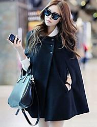 roupa nova coreano temperamento cor sólida casaco solto de Zebro mulheres