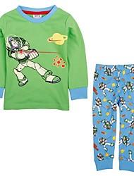 Boy's Cotton Clothing Set , Winter/Spring/Fall Long Sleeve