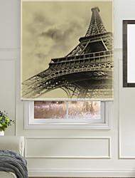 clássico esboçado Torre Eiffel máscara do rolo