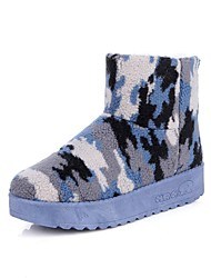 Women's Shoes Comfort Snow Boots Low Heel Fleece Ankle Boots More Colors available
