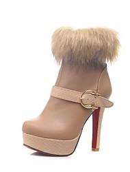 botines zapatos de moda las botas stiletto talón de las mujeres con la hebilla más colores disponibles