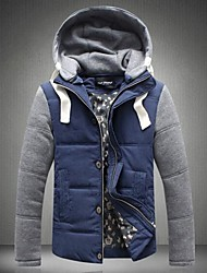 Men's Casual Hooded Coat Jacket