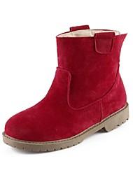 damesschoenen snowboots platte hak enkellaarsjes meer kleuren beschikbaar