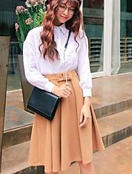 saias moda bowknot das mulheres (mais cores)