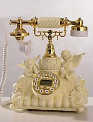 haoxinyi® nouveauté européen téléphone de la maison de style cupidon ange en polyrésine avec affichage id