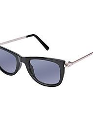 Retângulo pc moda óculos escuros 100% UV400 das mulheres
