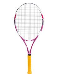 lydoo fibra de la raqueta de tenis de carbono rojo