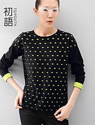 toyouth ® Frauen langärmelige Pullover Baumwolle