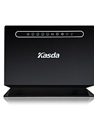 Kasda KW58283 300Mbps 802.11b/g/n Wireless ADSL2/2+ Modem Router Dual WAN Access 1-USB2.0 Host Port