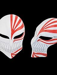 le masque de résine visage plein de mort pour Halloween (rouge&noir)