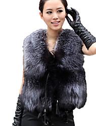 nuova pelliccia di moda gilet morbido delle donne