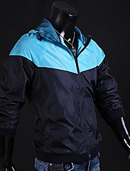 monment Männer einfache Kontrastfarbe Jacke