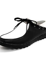 TPU Black&White Dress Shoes