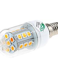 Zweihnder  E14 4W 600lm 3500K 24 x SMD 5730 Lamp LED Warm Light Corn Light (AC 220V)