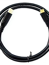 Universal Micro HDMI High-Definition Cable for GoPro HERO3 and Other Devices