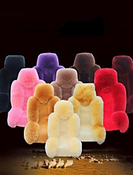 Reallink@Multiple Colors 5 Seats/Set Wool Car Seat Cushion Winter Car Mats Auto