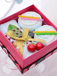 cadeau de Noël bambou déjeuner de fibre serviette en forme de coffret