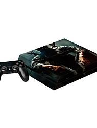 b-skin® couverture d'autocollant de protection autocollant de contrôleur de la peau de la console PS4