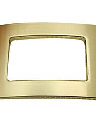 acentos decorativos de metal para los zapatos de un par