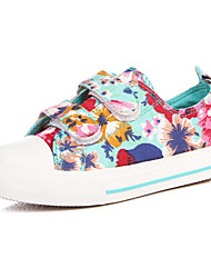 Sneakers de diseño ( Negro/Verde/Rosado ) - Comfort/Punta cerrada - Lienzo