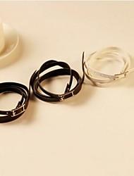la mode de la fourrure de femmes de bracelet mince