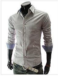 Banana Men's Casual Fashion Long Sleeve Shirt