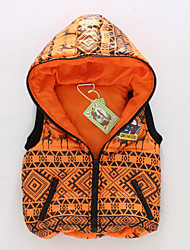 Boy's Cotton Blend Down & Cotton Padded/Vest , Winter/Spring/Fall