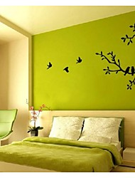 arbre de jiubai® et oiseaux sticker mural Sticker mural