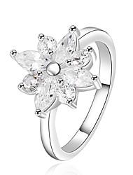 Ringen Causaal Sieraden Staal Ring 1 stuks,7 8 Zilver