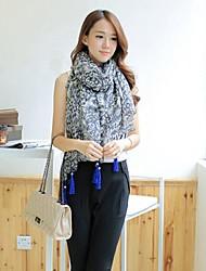 version coréenne des femmes de la petite nouvelle longue écharpe de voile