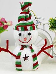 Natale fornisce classici widget pupazzo di neve